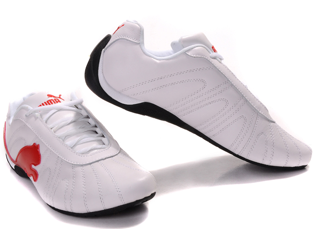 Men's Puma Ferrari Trainers White/Beige