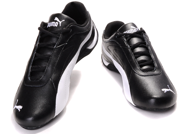 Men's Puma Vesta Runner Frost Sneaker Black/White