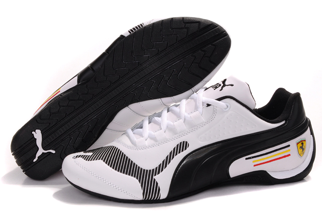 Puma Schumacher Trainers Black/Grey