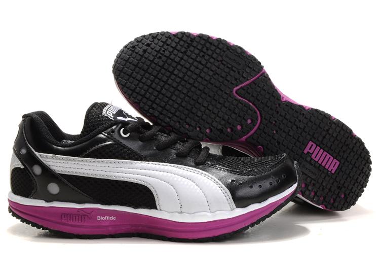 BodyTrain Mesh Women's Toning Shoes Black/White/Plumpurple .