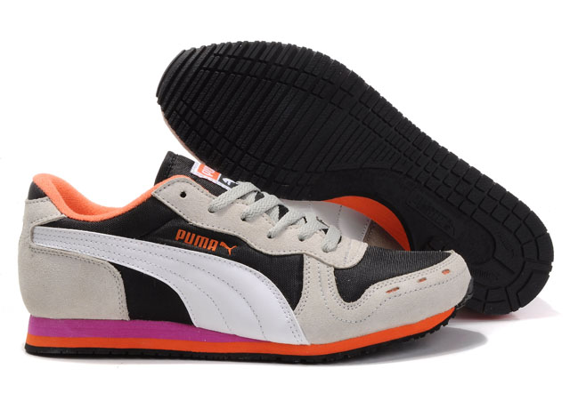 Puma Cabana Racer II LX Tan/Orange/White