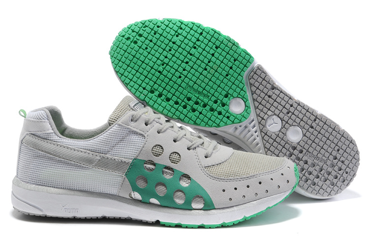 Faas 300 Running Shoes Grey/Green