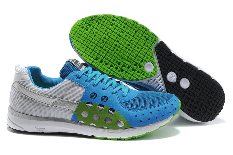 Faas 300 Running Shoes Grey/Blue/Green