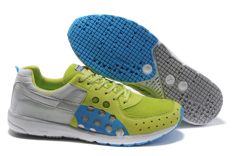 Faas 300 Running Shoes Grey/Green/Blue