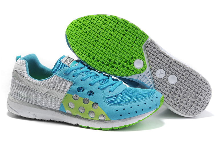 Faas 300 Running Shoes Grey/Lightblue/Green 02