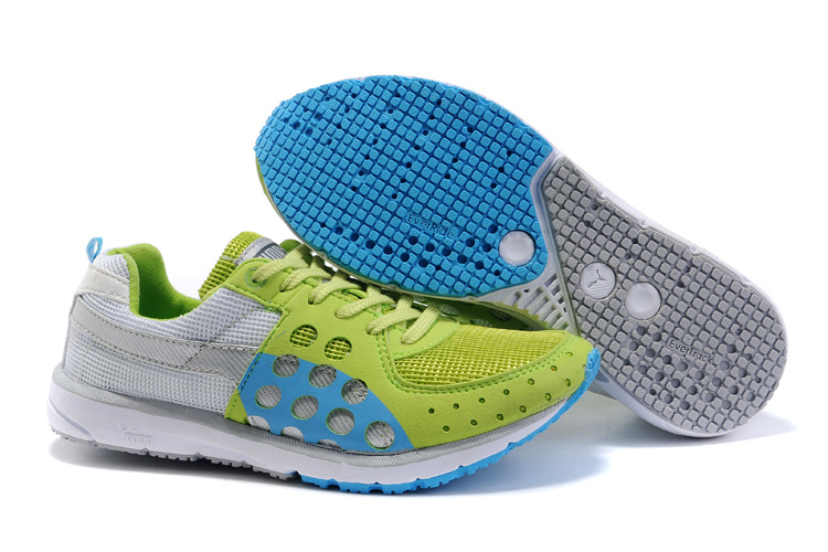 Faas 300 Running Shoes Green/Grey/Blue