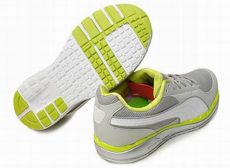 Puma Faas 500 Running Shoes Grey Green