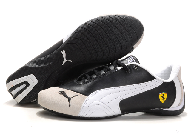 Ferrari Future Cat M1 Big Cat Shoes Black/Beige