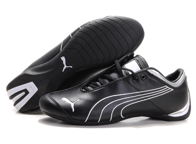 Puma Ferrari Future Cat Shoes Black/White
