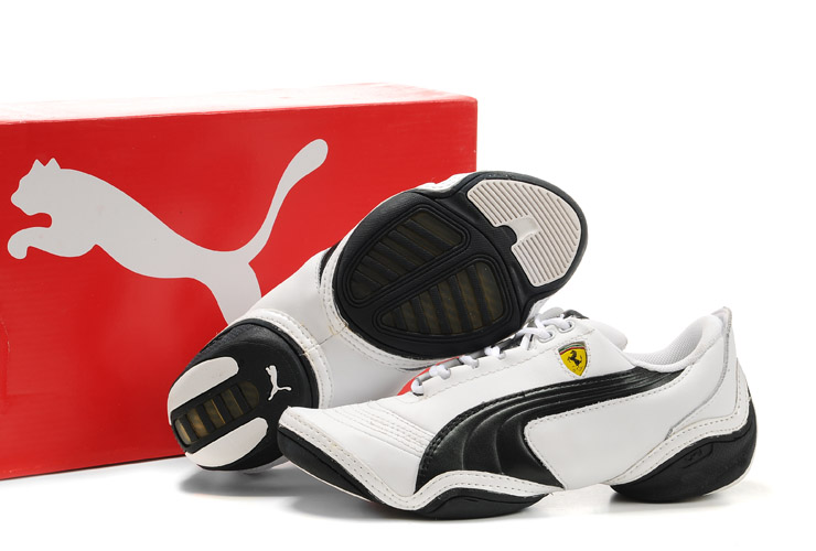 Puma Ferrari SF Scattista Shoes White/Black