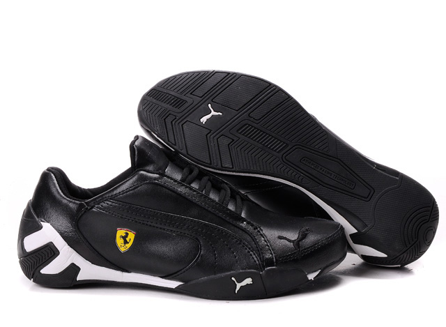 Puma Ferrari Scuderia GT Shoes Black/White
