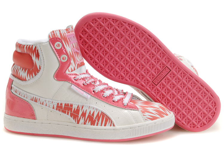 Puma First Round RP Sneakers Beige/Pink