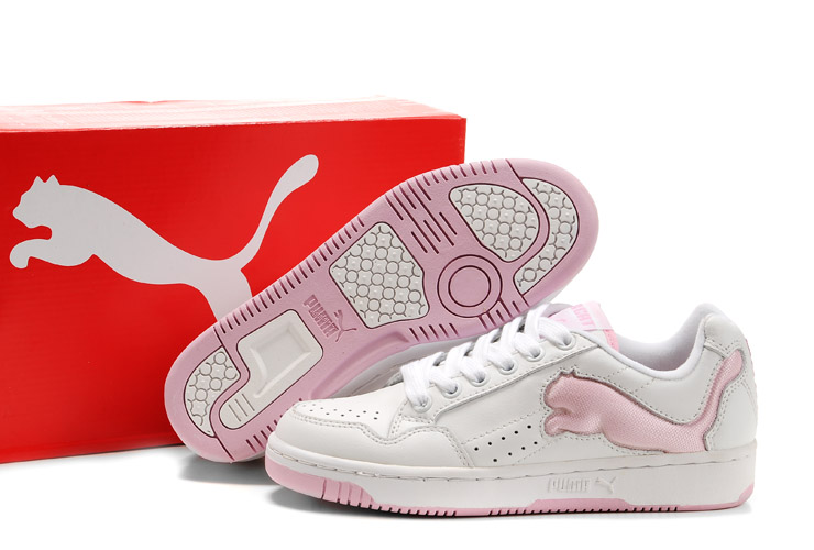 Puma Future Cat Lo Trainers White/Pink