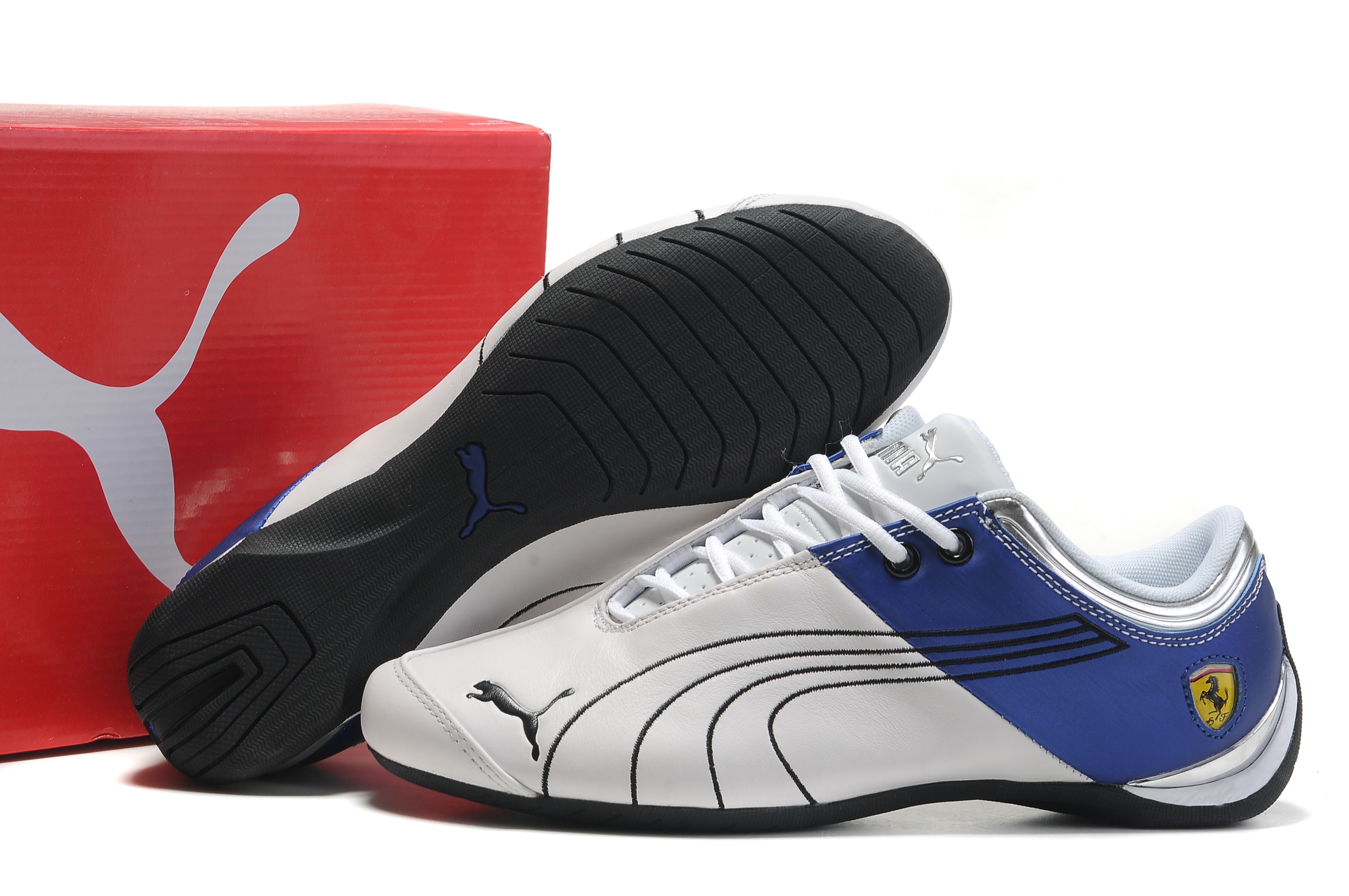 puma ferrari future cat shoes whiteblueblack puma