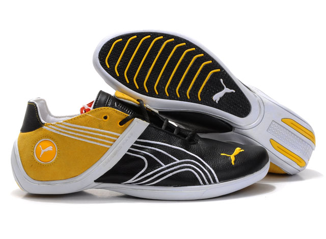 Puma Future Cat Remix Sneaker Black/Yellow/White