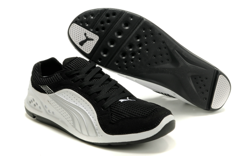 Puma L.I.F.T. Racer Running Shoes Black/White