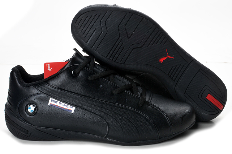 Men's Puma BMW Shoes Red Black