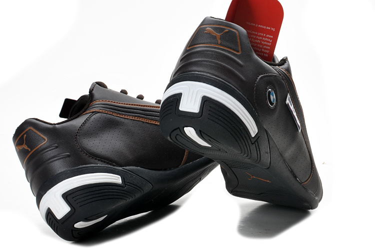 Men's Puma BMW Shoes Chocolate