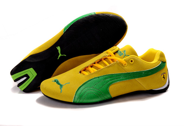 Puma BMW Shoes Yellow/Green