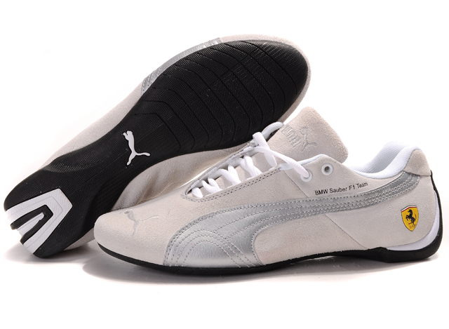 Puma BMW Shoes Tan/Silver