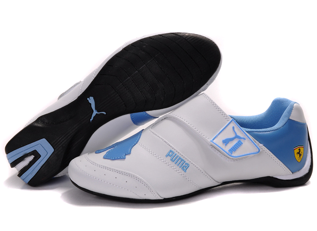Women's Puma Baylee Future Cat Shoes White/Blue
