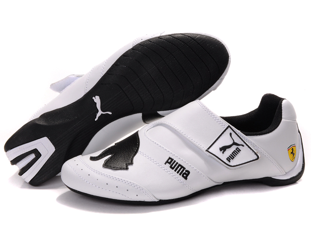 Men's Puma Baylee Future Cat Shoes White/Black 01