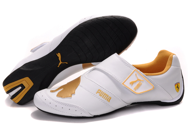Puma Baylee Future Cat Shoes White/Gold