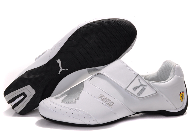 Men's Puma Baylee Future Cat Shoes White/Silver