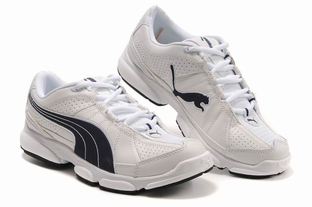 Puma Breathable Mesh Running Shoes White/Black