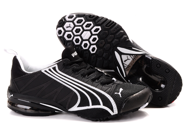 Puma Cell Running Shoes Black/White