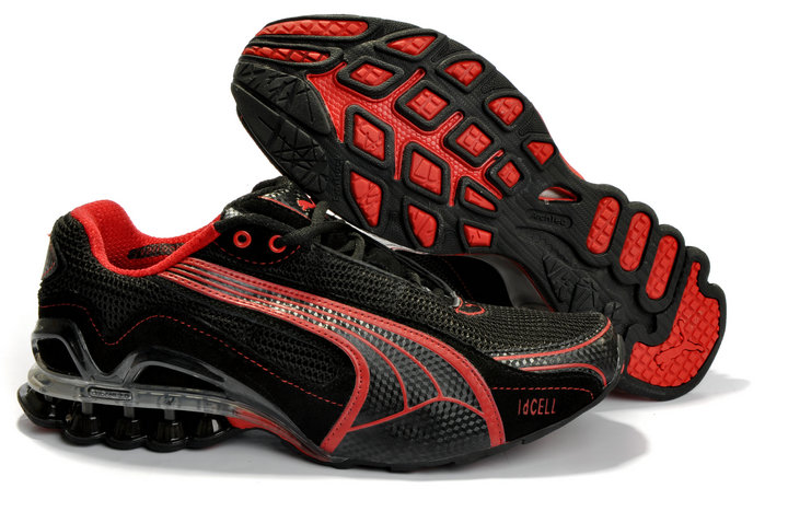 Puma Cell Sorai Running Shoes Black/Red