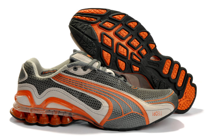 Puma Cell Sorai Running Shoes Grey/Orange