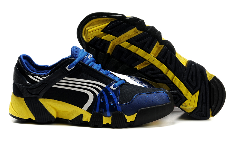 Puma Complete AX-Alps Shoes Black/Blue/Yellow