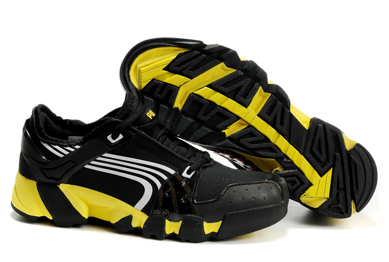 Puma Complete AX-Alps Shoes Black/White/Yellow