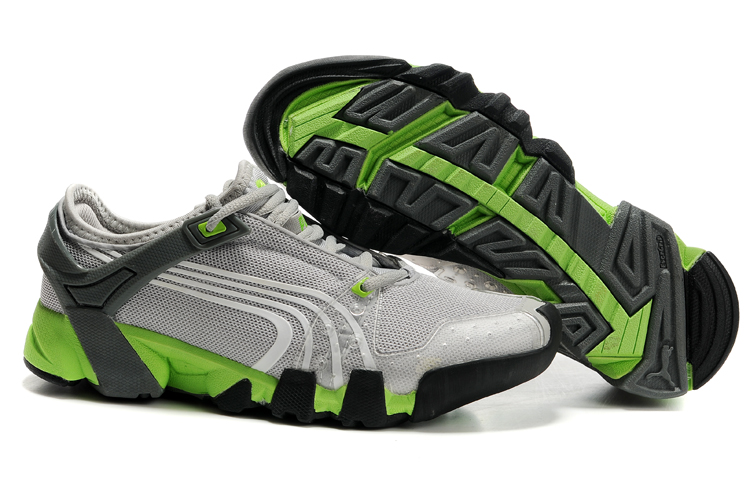 Puma Complete AX-Alps Shoes Grey/Green