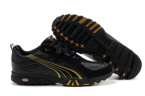 Puma Complete Cell Shoes Black/Gold
