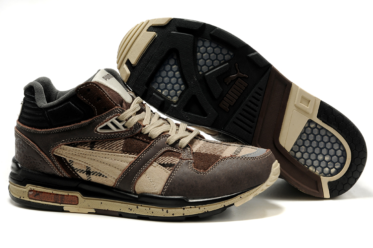 Puma Complete Eutopia Shoes Brown/Tan