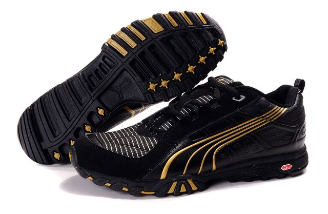 Puma Complete Vectana Shoes Black/Gold
