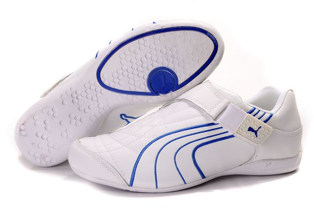 Puma Doshu Combat Shoes White/Blue