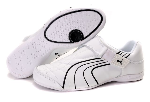 Puma Doshu Combat Shoes White/Black