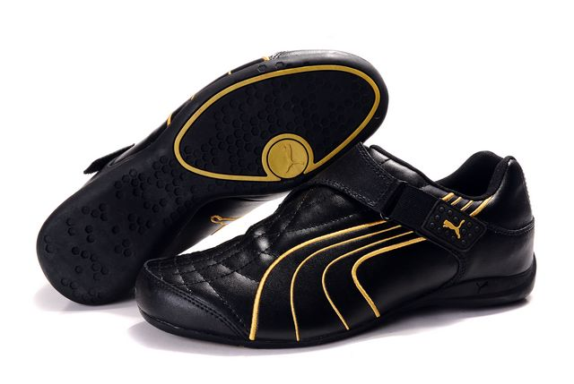 Puma Doshu Combat Shoes Black/Gold