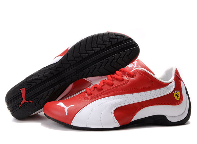 Puma Drift Cat Shoes Red/White