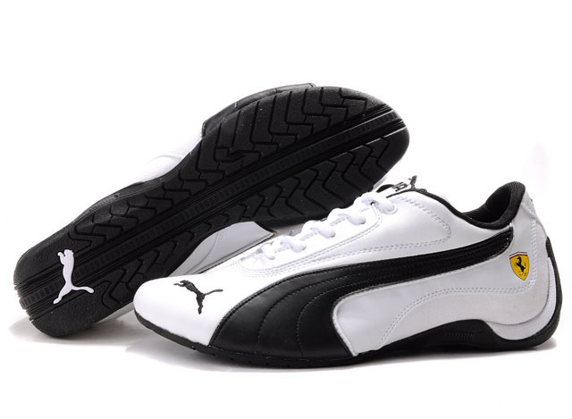 Puma Drift Cat Shoes White/Black 01