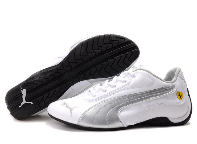 Puma Drift Cat Shoes White/Silver 02