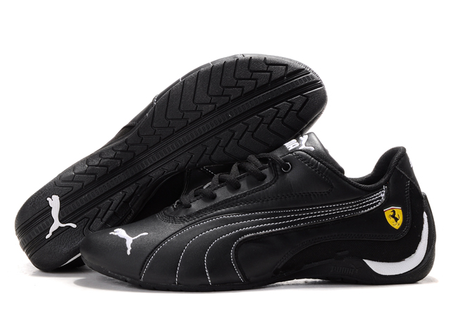 Puma Drift Cat Shoes Black/White 01