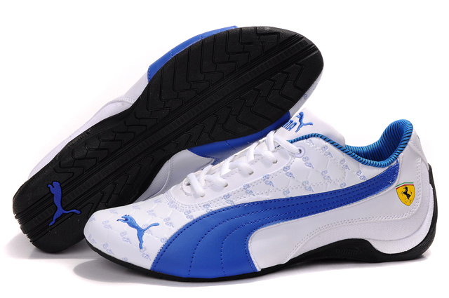 Puma Drift Cat Trainers White/Blue