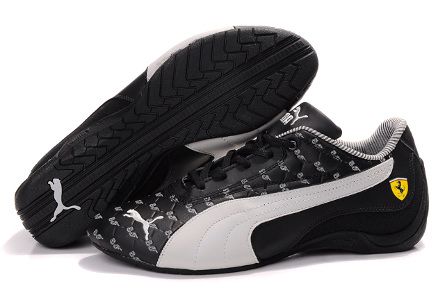 Puma Drift Cat Trainers Black/Beige