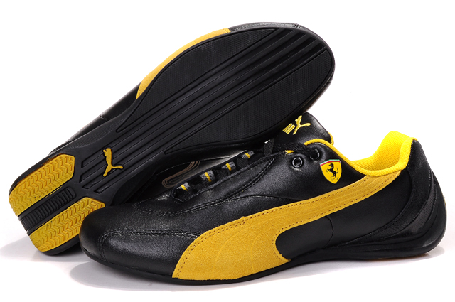 Puma Drift Cat ii Shoes Black/Yellow
