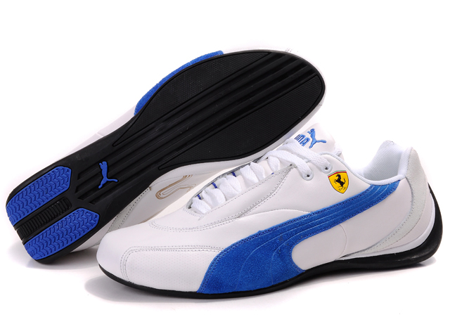 Puma Drift Cat ii Shoes White/Blue