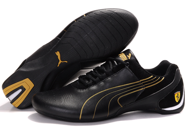 Puma Drift Cat iii Shoes Black/Gold